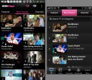 BBC iPlayer on Android has two columns of thumbnails, which speeds up browsing