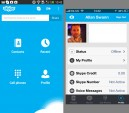 Android definitely has the best version of Skype
