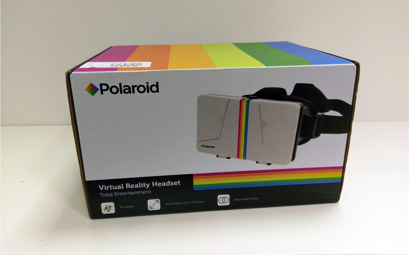 Polaroid Virtual Reality Headset Retro