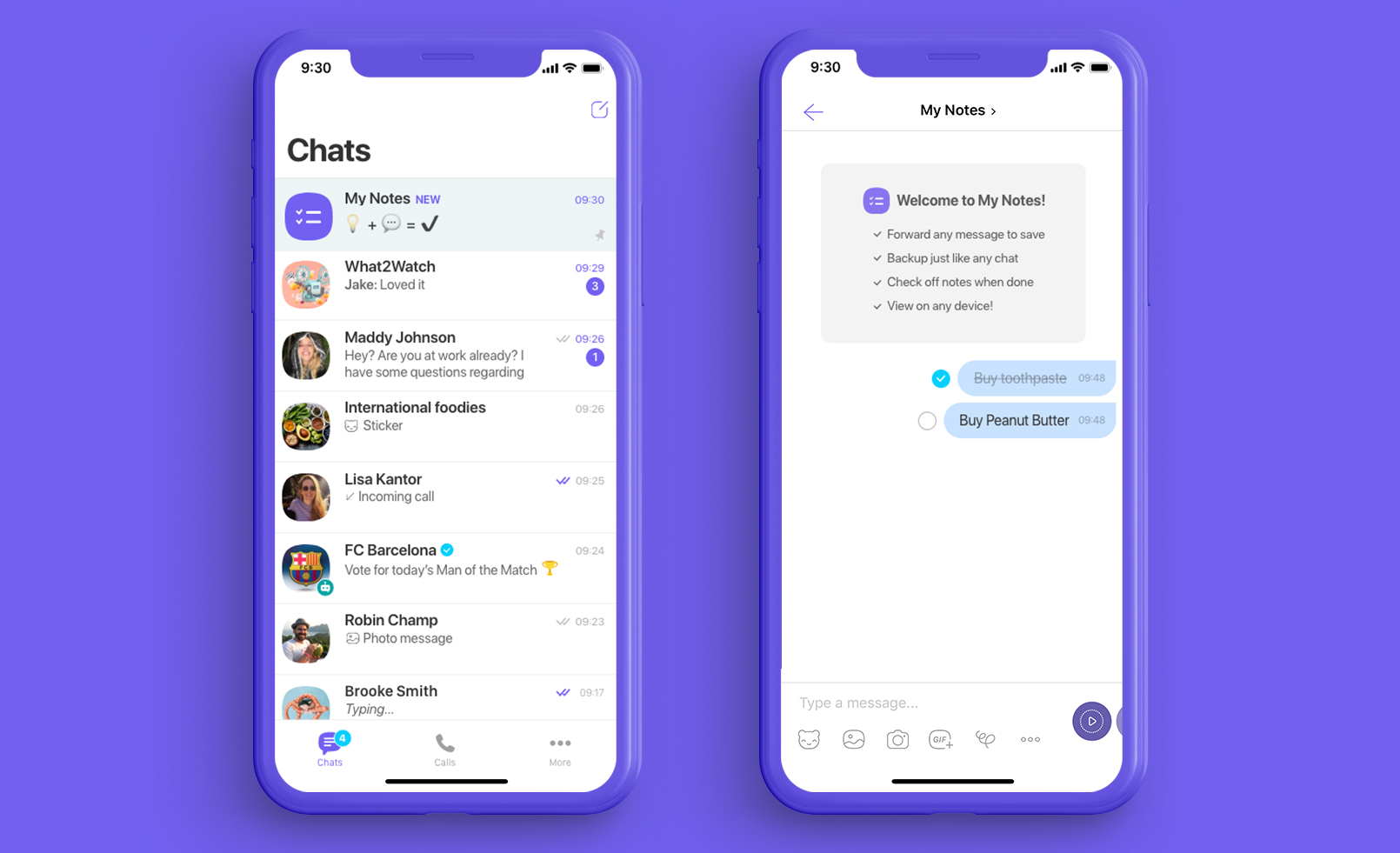 An image of Viber, an alternative to Telegram.