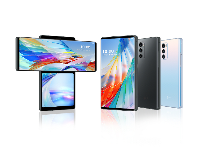 LG unveils Wing smartphone with radical swivel design