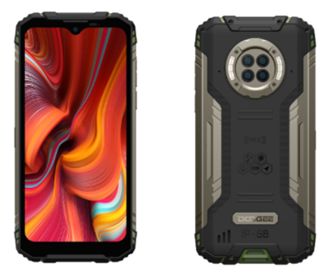DOOGEE introduces world's first infrared night vision rugged smartphone