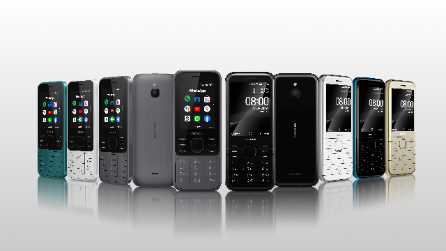 Two new Nokia feature phones now available in the UK