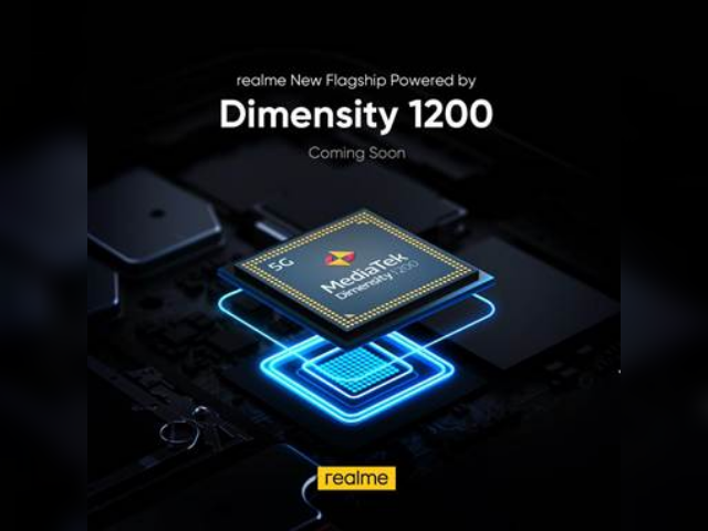 Realme to release device with brand new Dimensity 1200 5G chipset