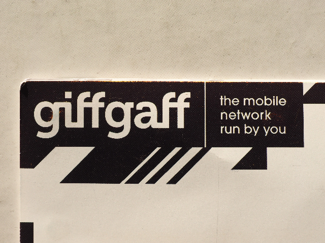 giffgaff introduces data-packed 'golden goodybags'