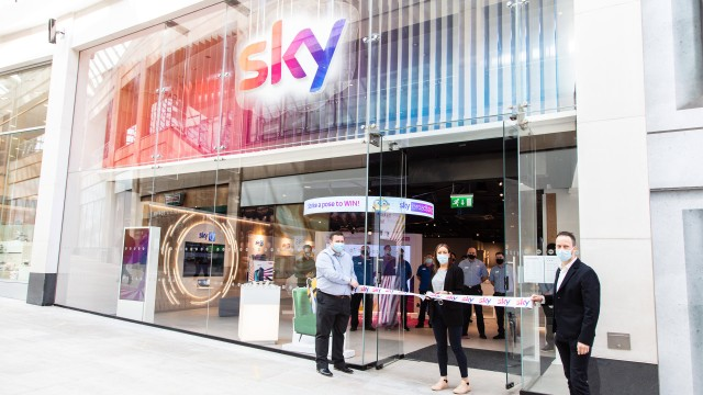 Sky opens biggest store yet in Leeds