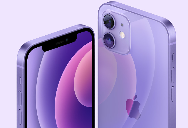 Apple unveils new purple iPhone 12 and iPhone 12 Mini