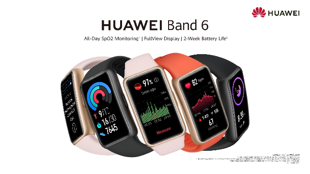 Huawei launches latest Band 6 wearable